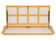 Напольный люк с газовыми амортизаторами 600X900