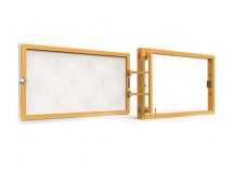Ревизионный люк под плитку, распашной, нажимной 300Х200